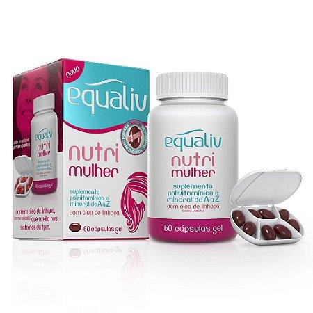 Nutri Mulher Polivitamínico - 60 cápsulas - Equaliv
