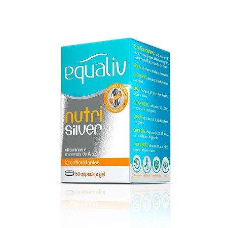 Nutri Silver Polivitamínico - 60 cápsulas - Equaliv