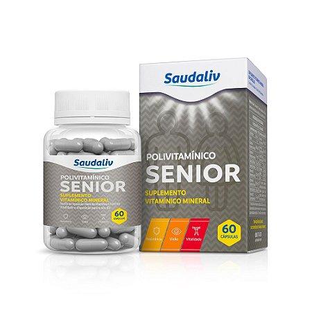 Sênior Polivitamínico - 60 cápsulas - Saudaliv