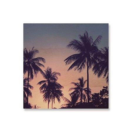 Print - Palm Trees - Blue