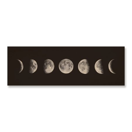 Print - Fases da Lua Panorâmico