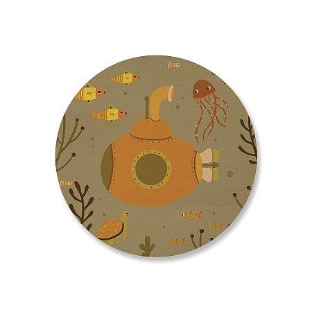 Print - Submarino - Caramelo