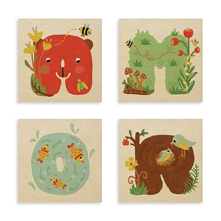 Kit Print - Amor no Jardim