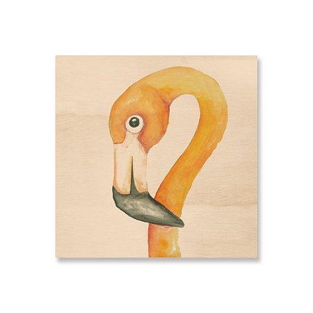 Print - Flamingo Aquarela