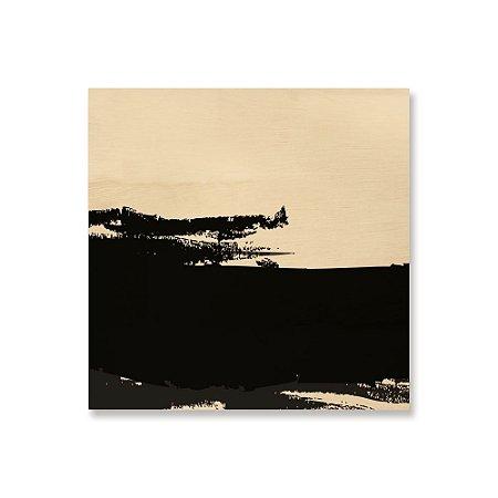 Print - Abstrato P e B 1