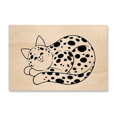 Print - Gato Bola