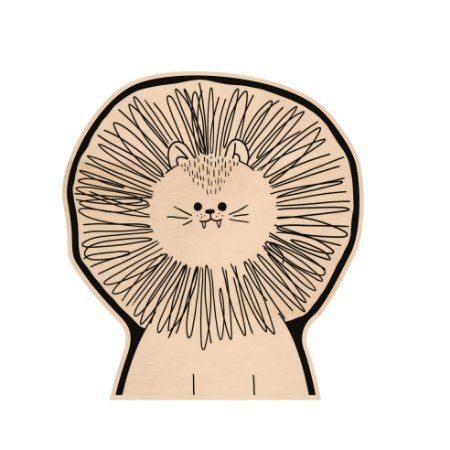 Silhouette de Madeira - Leão