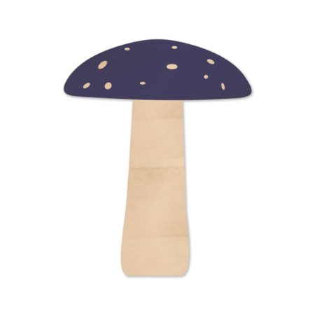 Silhouette de Madeira - Cogumelo Azul