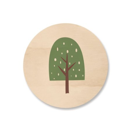 MooMoo - Árvore Sorvete Verde