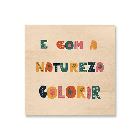 MooMoo - E com a Natureza Colorir