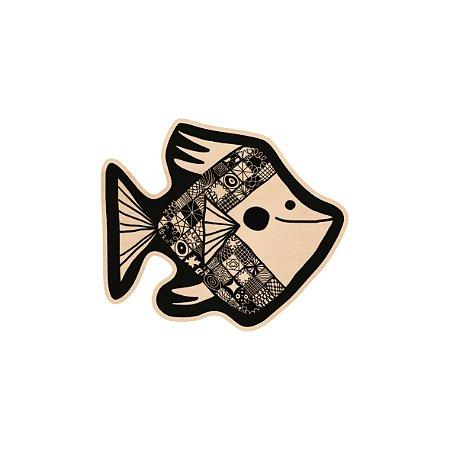 Silhouette de Madeira - Peixe 1