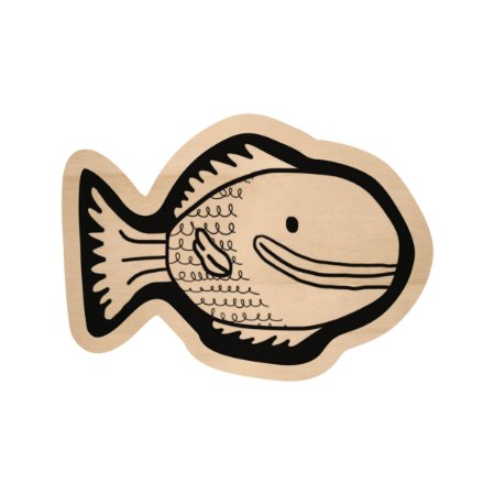 Silhouette de Madeira - Peixe 3