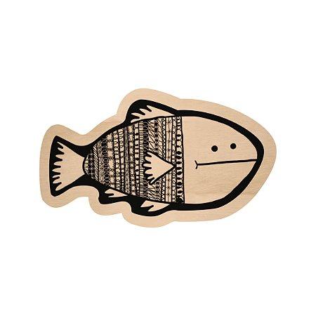 Silhouette de Madeira - Peixe 4