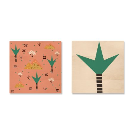 Kit MooMoo - Arábia e Palmeira Arábia