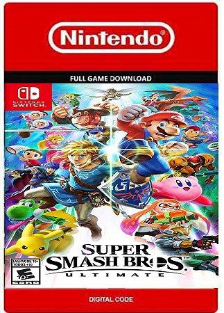 Super Smash Bros Ultimate Nintendo Switch Codigo Digital Eshop