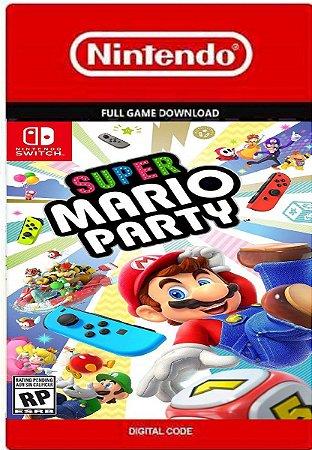 Super Mario Party - Nintendo Switch Código Digital Eshop