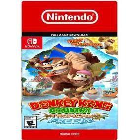 Donkey Kong Country Tropical Freeze Nintendo Switch Código Digital Eshop