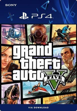 Grand Theft Auto V (Gta5) Ps4 Mídia Dígital