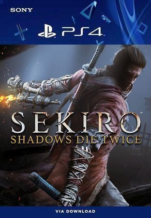 Sekiro: Shadows Die Twice Ps4 Mídia Digital