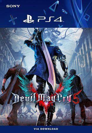 Devil May Cry 5 Ps4 Mídia Digital Original