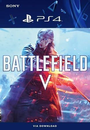 Battlefield V Ps4 Mídia Digital Primária Original