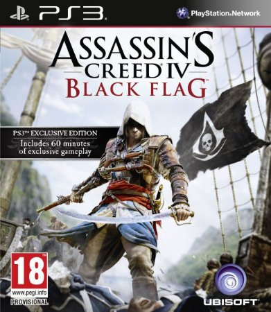 Assassins Creed 4 Black Flag PS3 PSN Mídia Digital