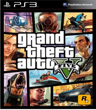 Gta 5 V Ps3 Grand Theft Auto PS3 PSN Mídia Digital