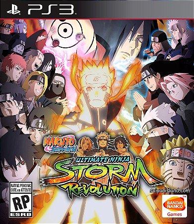 Naruto Shippuden Ultimate Ninja Storm Revolution PS3 PSN Mídia Digital