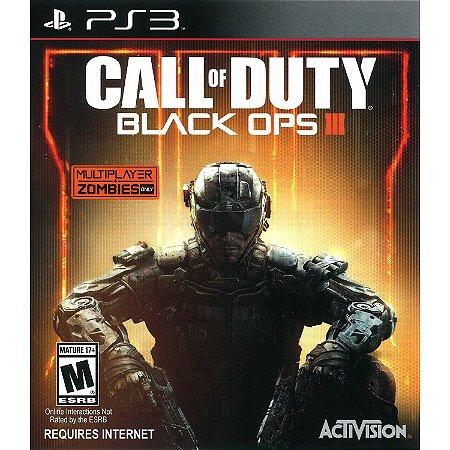 Call Of Duty Black Ops 3 PS3 PSN Mídia Digital