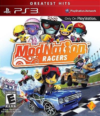 Modnation Racers PS3 PSN Mídia Digital