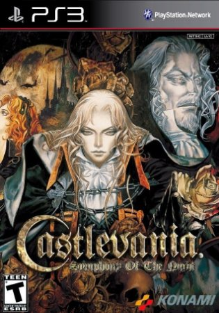 Castlevania Symphony Of The Night SOTN PS3 PSN Midia Digital