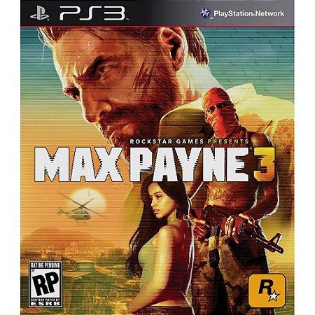 Max Payne 3 PS3 PSN Mídia Digital