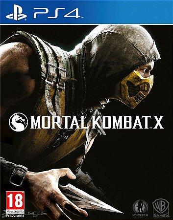 Mortal Kombat X 10 PS4 PSN Mídia Digital