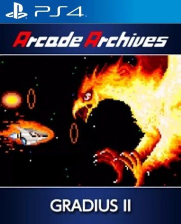 Arcade Archives Gradius II PS4 PSN Mídia Digital