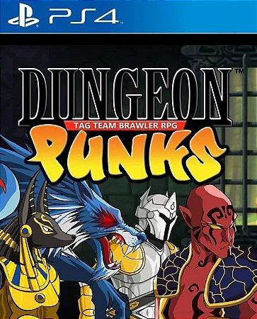 Dungeon Punks PS4 PSN Mídia  Digital
