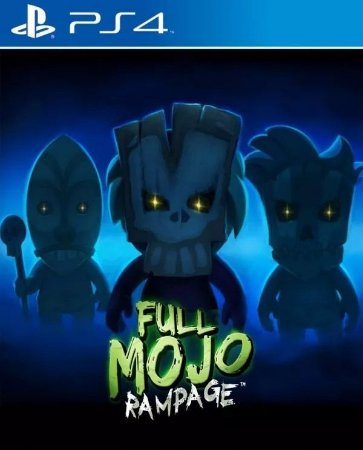 Full Mojo Rampage PS4 PSN Mídia Digital