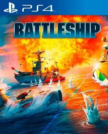 Battleship PS4 PSN Mídia Digital