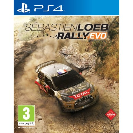 Sebastien Loeb Rally Evo PS4  PSN Mídia Digital