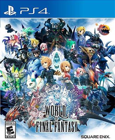 World Of Final Fantasy PS4 PSN Mídia Digital