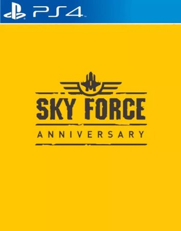 Sky Force Anniversary PS4  PSN Mídia Digital