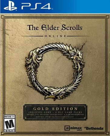 The Elder Scrolls Online Gold Edition PS4  PSN Mídia Digital