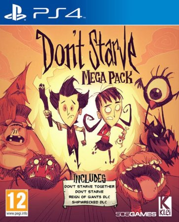Don't Starve Mega Pack PS4 PSN Mídia Digital