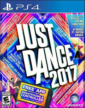 Just Dance 2017 PS4 PSN Mídia Digital