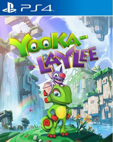 Yooka-laylee PS4 PSN Mídia Digital
