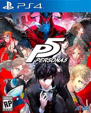 Persona 5 PS4  PSN Mídia Digital