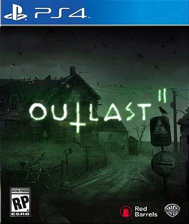 Outlast 2 II PS4 PSN Mídia Digital