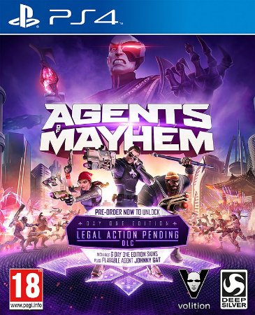 Agents of Mayhem PS4 PSN Mídia Digital