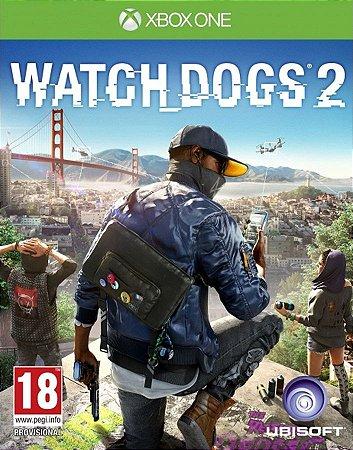 Watch Dogs 2 - Xbox One - Código de Resgate 25 Dígitos
