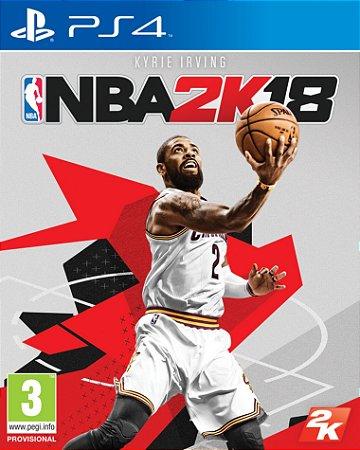 NBA 2K18 PS4 PSN mídia Digital
