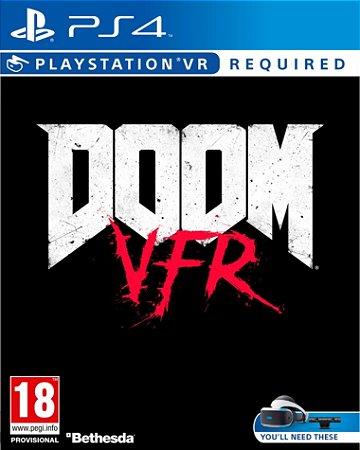Doom PS4 PSN Versão VR  Mídia Digital